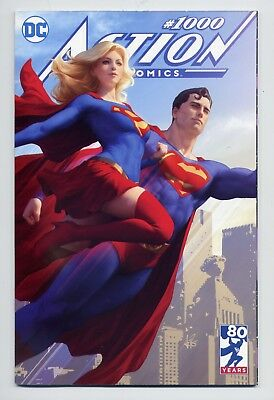 Action Comics #1000 NM+ Buy Me Toys Artgerm Edition Superman Supergirl