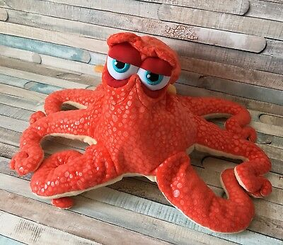 "Genuine Disney Store ""Hank The Octopus"" Finding Dory 44cm Soft Plush Toy (Nemo)"