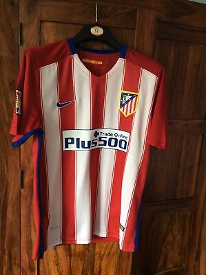 ATHLETICO MADRID Football Shirt 2016 Nike Genuine Never Been Worn Adult Small