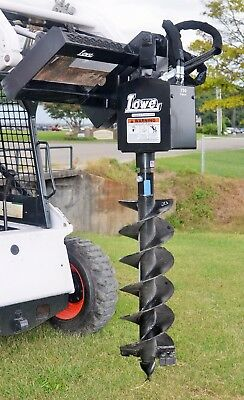 """Bobcat Skid Steer Attachment Lowe 750 Round Auger Drive with 12"""" Bit - Ship $199"""