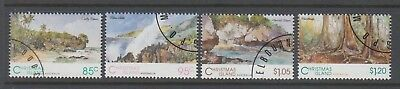 Christmas Island 1993 Scenic Views set 4 cancelled to order stamps.
