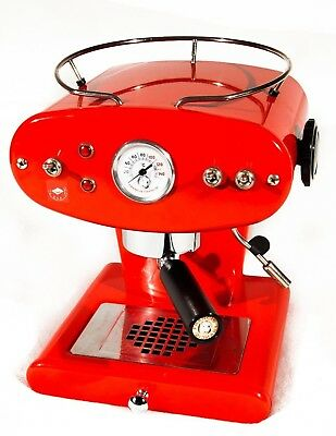 ILLY FRANCIS FRANCIS X1 classic, Rot, Pads & Pulver, Portafilter-Set ...