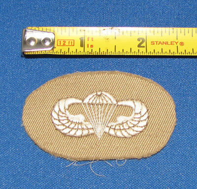 WWII Beautiful Embroidered Japanese Occupation Paratrooper Jump Wing