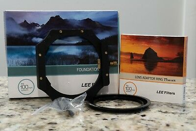 Lee Filters Foundation Kit / Filter Holder + Lee Filters 77mm wide angle adapter