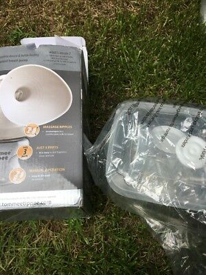 Tommee Tippee Closer to Nature manual breast pump, brand new in box