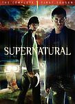 Supernatural: The Complete First Season (DVD, 2006, 6-Disc Set) Brand New Sealed