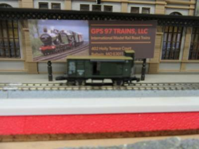 Z - Marklin 8649 Baggage Car with Slide Doors & Brakemans Cabin - NIB