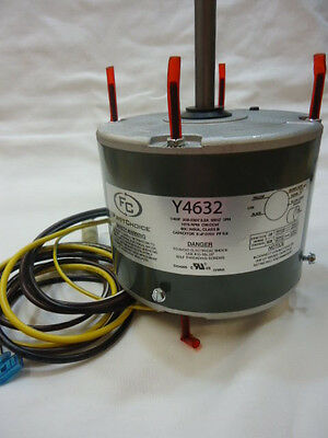 First Choice A/C Condenser Fan Motor Y4632 1/4 HP 208-230 VAC 1075 RPM