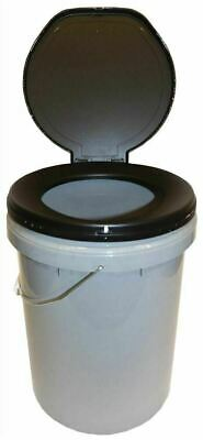 Leisurewize Need A Loo Camping Toilet Bucket With Seat & Lid