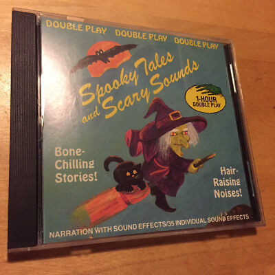 spooky tales and scary sounds scary narration classic halloween sound effects cd