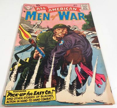 All American Men Of War #57 GD/VG 1958 DC