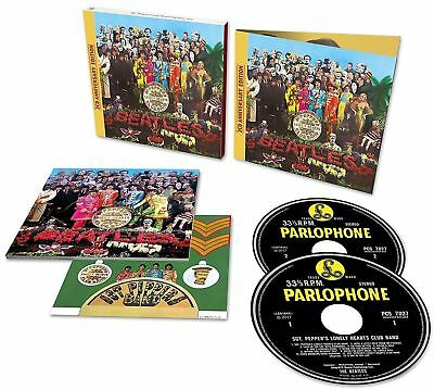Sgt. Pepper's Lonely Hearts Club Band [50th Anniversary Edition 2 CD] Beatles