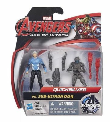 "MARVEL Avengers Age of Ultron QUICKSILVER VS SUB-ULTRON 009 2.5"" Figure Set"