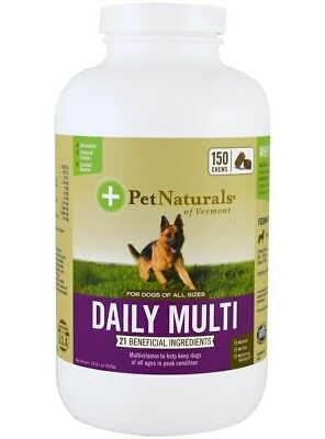 Pet Naturals of Vermont, Daily Multi, For Dogs, 150 Chews