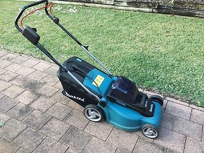 Used Makita DLM380Z 36V Lithium-Ion Battery Lawn Mower - Skin Only Good cond.