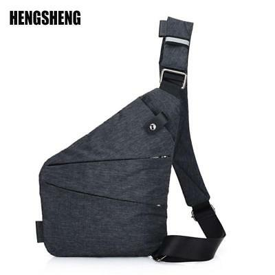 Brand Men Travel Business Fino Bag Burglarproof Shoulder Bag Holster Anti Theft