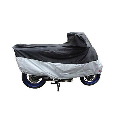 Motorcycle H2Out Motohart waterproof Lightweight Bike Cover silver small
