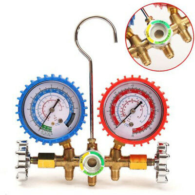 Refrigerant Manifold Gauge Charging Hose Couplers Fit For R12&R22&R134A&HVAC A/C