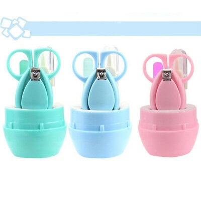 Finger Toe Nail Clippers Cutter Baby Infant Child Manicure Safety Set Care Tools