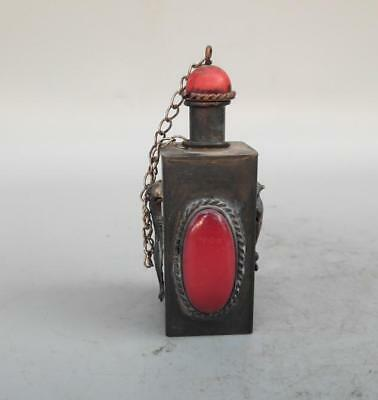 Chinese archaize Pure copper Snuff bottles