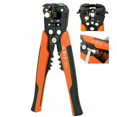 Automatic Cable Wire Crimper Crimping Tool Stripper Plier Cutter Self Adjustable
