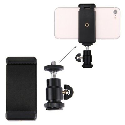 Mobile Phone Camera Tripod Stand Clip Bracket Holder Mount Adapter Universal New