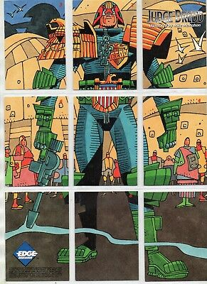 Judge Dredd    1995       Full Set of 82 Trading Cards