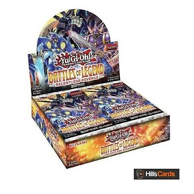 Yu-Gi-Oh TCG Battles Of Legend Relentless Revenge Sealed Booster Box of 24 Packs