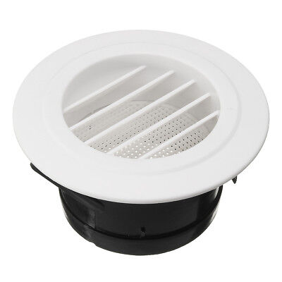 Round Air Vent ABS Louver Grille Cover ABS Ventilation Grille Air Grille