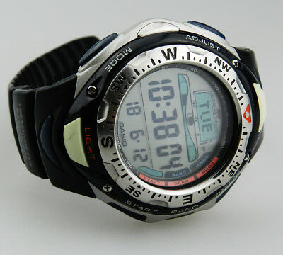 Casio Sea Pathfinder 2273 SPF - 40  Barometer Thermometer Compass B3471!