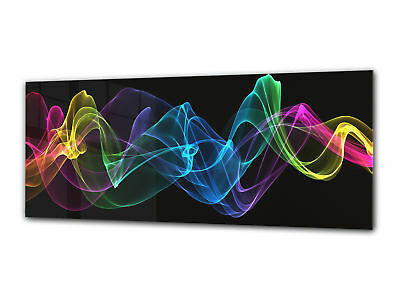 Glass Print Wall Art 112x45 cm Image on Glass Decorative Wall Picture 99913128