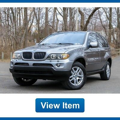 BMW X5 1 Owner Clean Carfax 59K mi Premium Cold Package 2004 BMW X5 1 Owner Clean Carfax Super Low 59K mi Premium Cold Package!