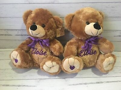 Personalised Teddy Bear - Baby Gift Arrival, Mother's Day
