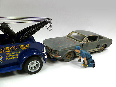 Tow Truck Driver SCOTT - 1/24 - G  scale figure - NEW from American Diorama