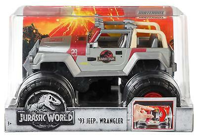 Jurassic World 93 Jeep Wrangler 1:24 Truck