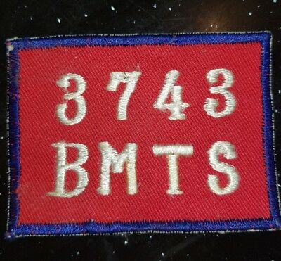 1950 - 1956 USAF US Air Force Lackland AFB 3743rd Japanese Made Squadron Patch