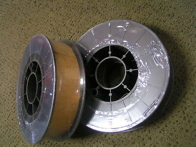 "Two 11 Lb Spools .ER70S-6 x 035"" Mild Steel MIG Welding Wire"