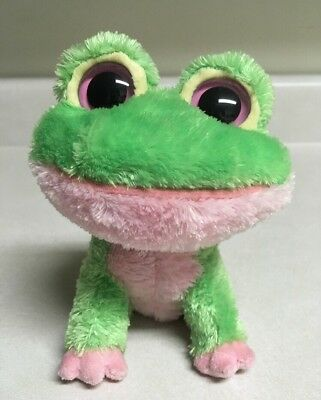 """Ty 6"""" Beanie Boo With tush tag, no hang tag KIWI the Frog 2009 retired RARE"""