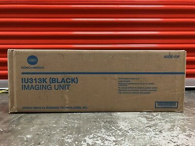 Genuine NEW Konica Minolta BIZHUB C353 Black Imaging Unit IU313K A0DE03F NEW