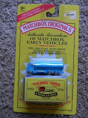 Sealed MAKO Lesney MATCHBOX ORIGINALS SERIES No. 11A The E.R.E. Petrol Tanker