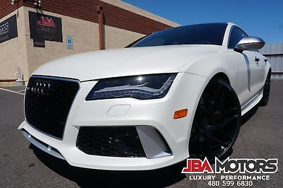 Audi RS7 2014 Audi RS 7 Prestige Package RS7 14 White Audi RS7 Prestige Package like 2011 2012 2013 2015 2016 2017 A7 S7 S6