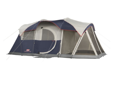 Camping Tent With Screen Room Windproof 6 Person Best Family Screened Porch
