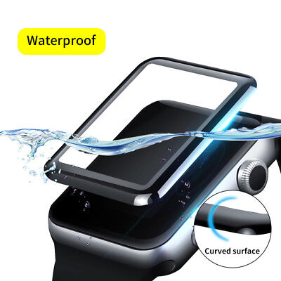 Full Glue Waterproof Tempered Glass Screen Protector For Apple  iwatch123 42mm
