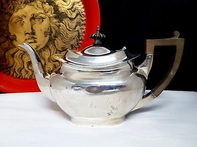 Vintage  Sterling Silver Teapot American Hallmarked 418 G Minor Dents Scrap
