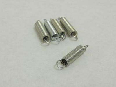 """142031 New-No Box, Formax 901693 Lot-5 Extension Springs, 1-3/8"""" L, 1/4"""" OD"""