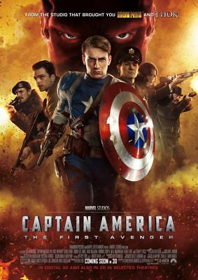 Captain America the First Avenger A4 260GSM Poster Print