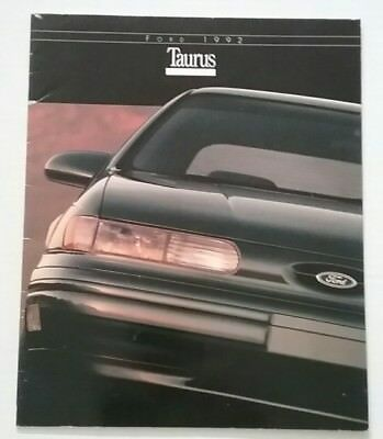 Vintage 1992 Ford Taurus 28 Page Car Auto Sales Brochure Free Shipping