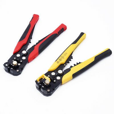 Automatic Cable Wire Striper Cutter Stripper Crimper Plier Terminal Hand Tools