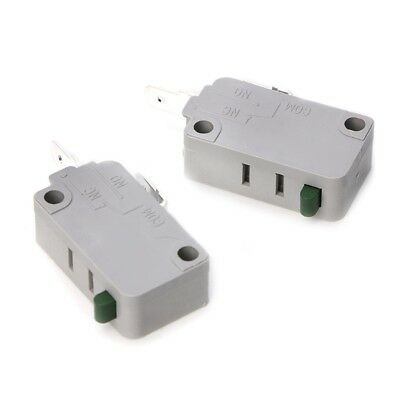 2Pcs KW3A Microwave Oven Door Micro Switch 125V/250V 16A Normally Open Switch