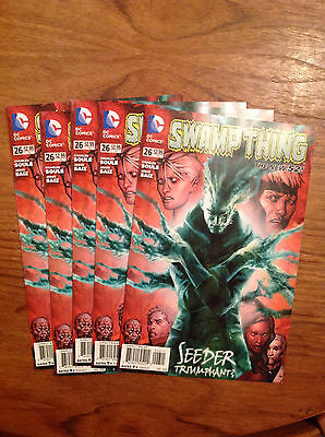 Swamp Thing  #26  VF/NM   (Wholesale Bundle) x 5 copies